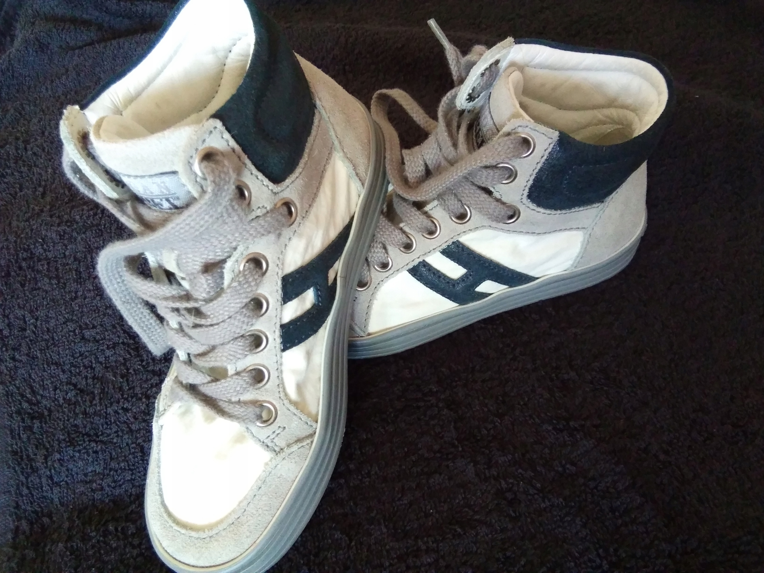 HOGAN Debel buty trampki dziecięce 29