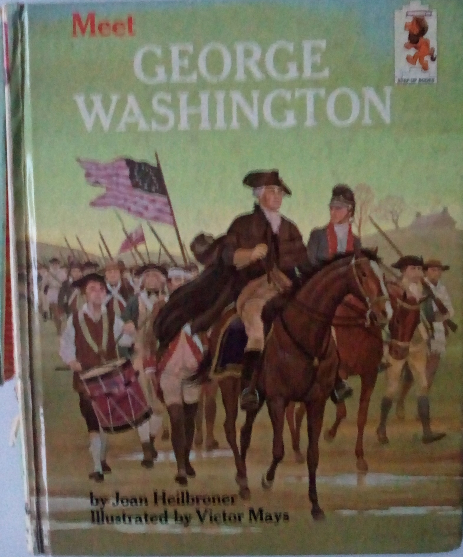 MEET GEORGE WASHINGTON JOAN HEILBRONER 1964