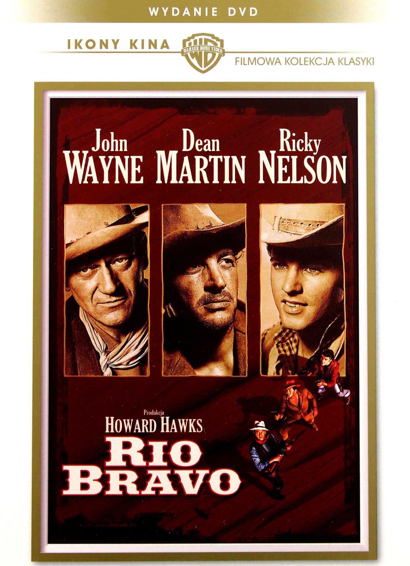 DVD - Rio Bravo - John Wayne , Dean Martin -FOLIA