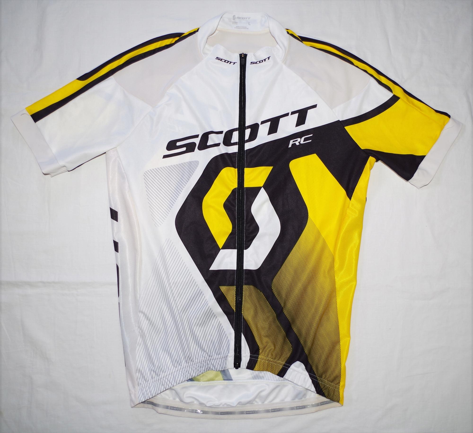 SCOTT RACING TEAM koszulka rowerowa kolarska L HIT