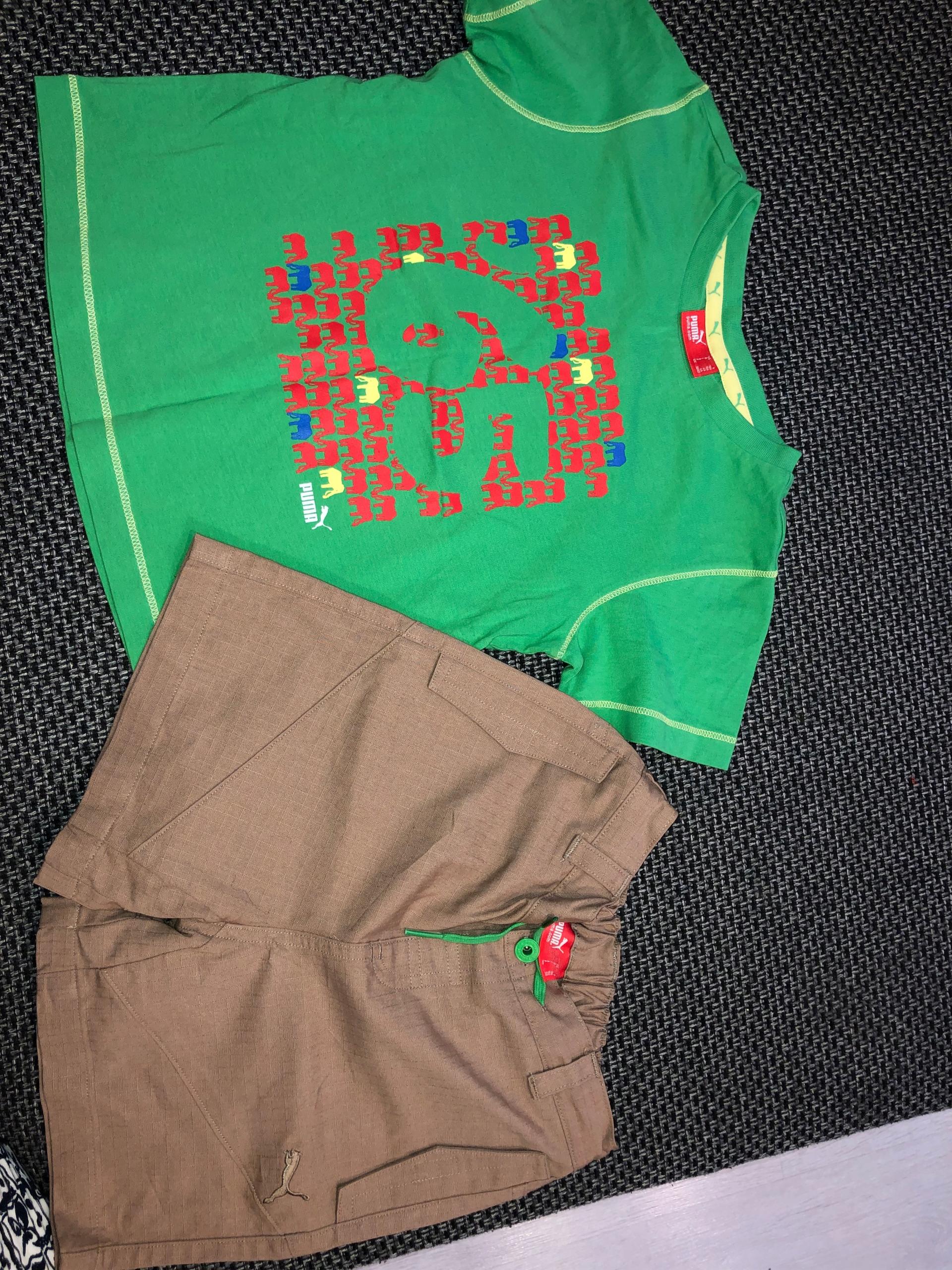 PUMA_komplet spodnie+bluzka chłopięcy_104 cm