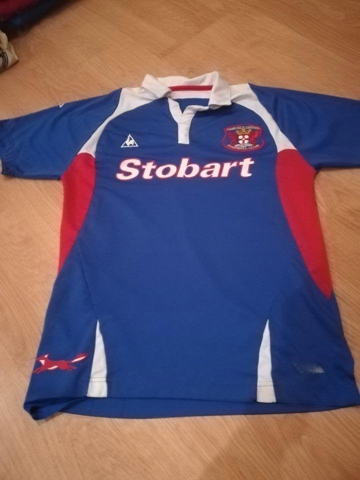 Koszulka Piłkarska Carlisle United le coq sportif