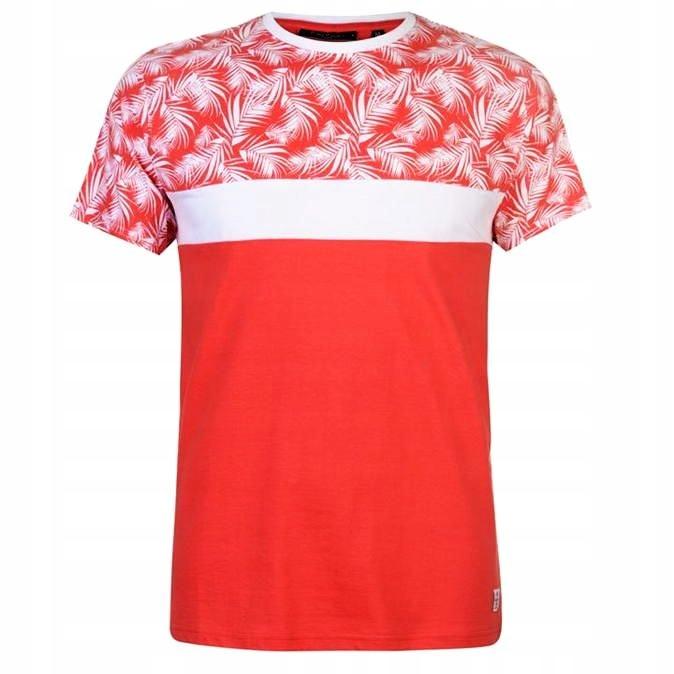 PIERRE CARDIN t shirt 100% bawełna XL palmy