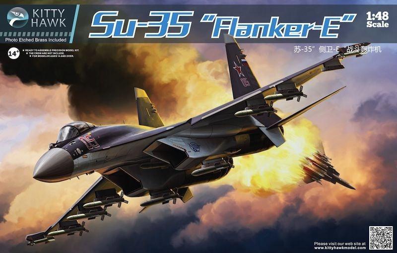 KITTY HAWK 80142 - 1:48 Sukhoi Su-35 Flanker E