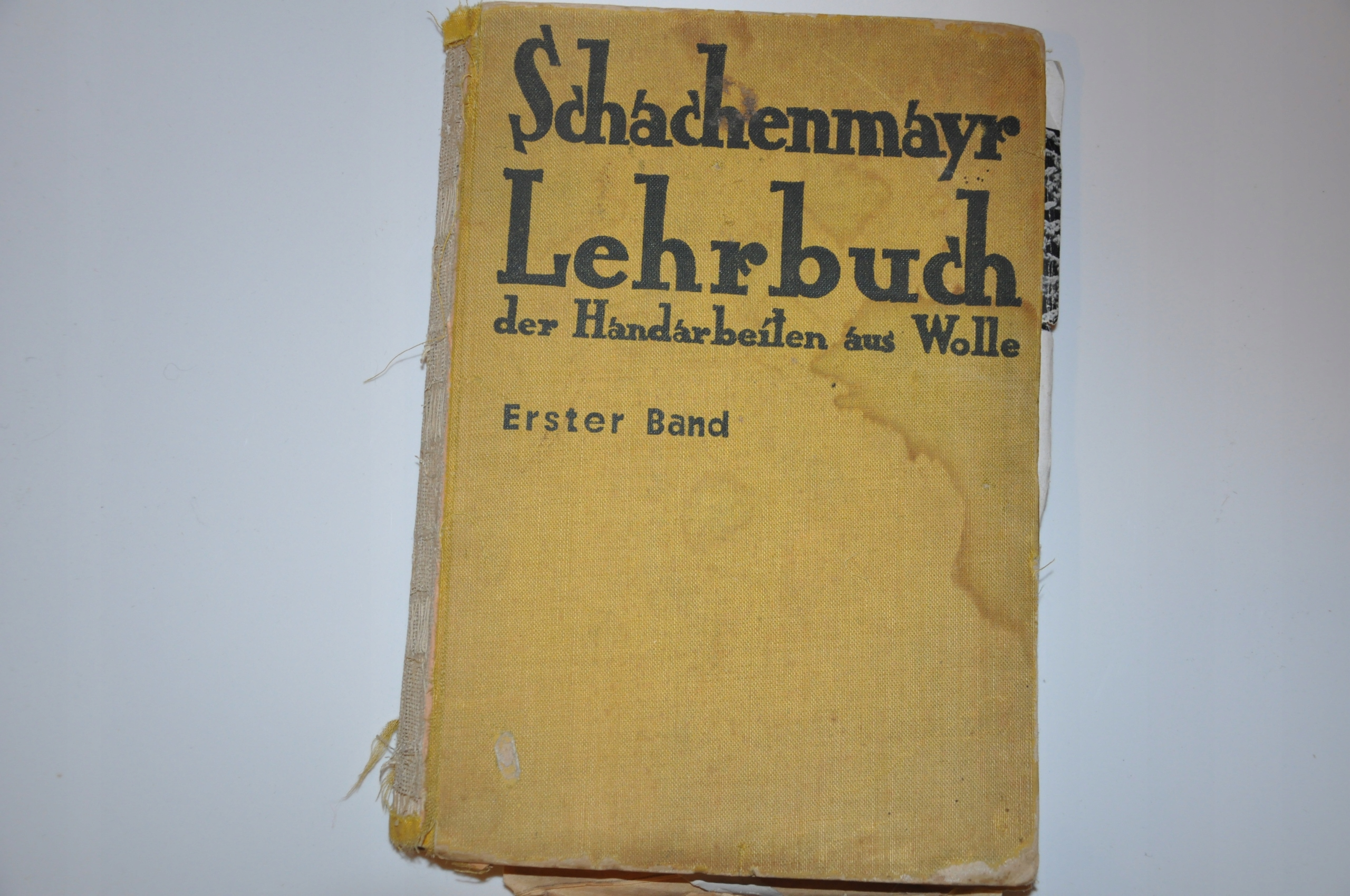 Schachenmayr Lehrbuch der Handarbeiten1933 robótki