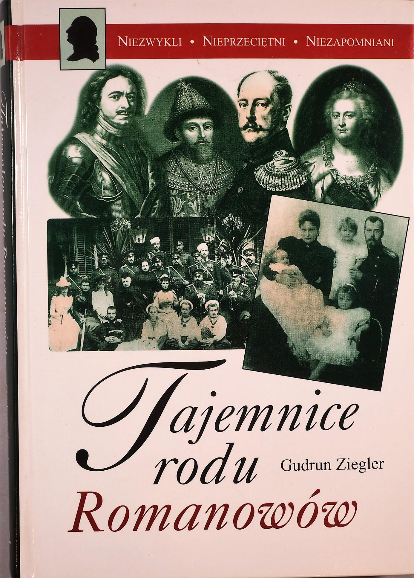 TAJEMNICE RODU ROMANOWÓW GUDRUN ZIEGLER