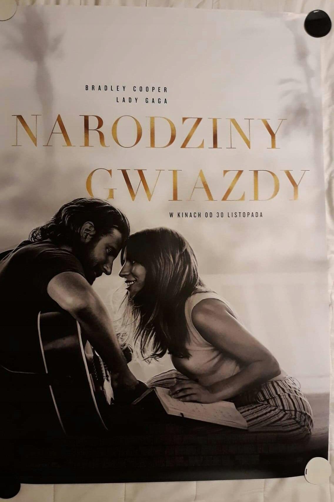 Narodziny Gwiazdy Plakat Z Filmu Lady Gaga 7651879050
