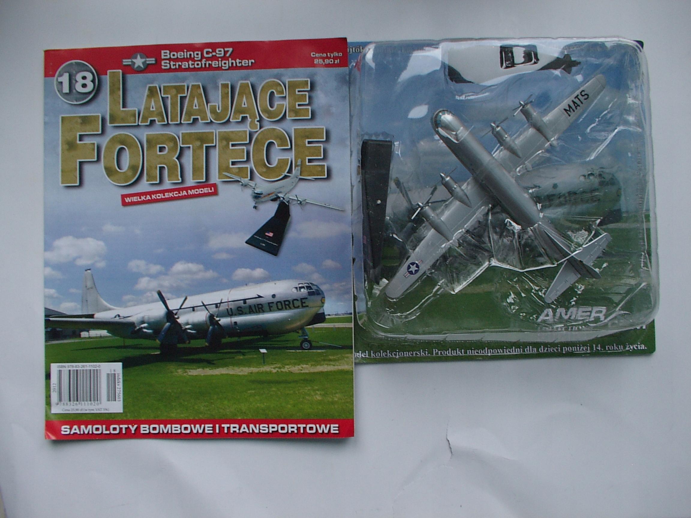 Boeing C-97 Stratofreighter (1:200) Latające Forte
