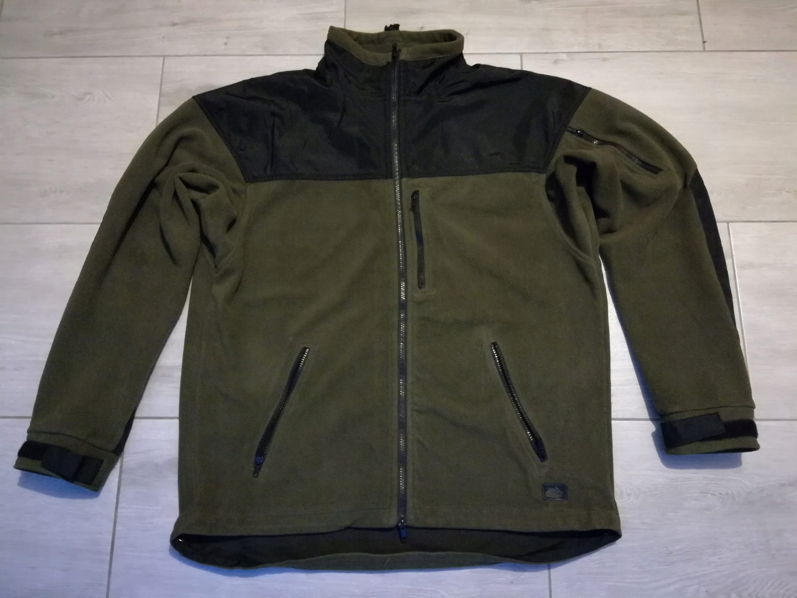 HELIKON CLASSIC ARMY Bluza Polar Zielono/Czarny XL