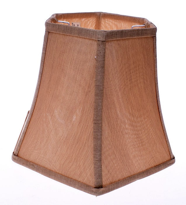 9121-22 .....KLOSZ DO LAMPY W KOLORZE KAWOWYM 25CM