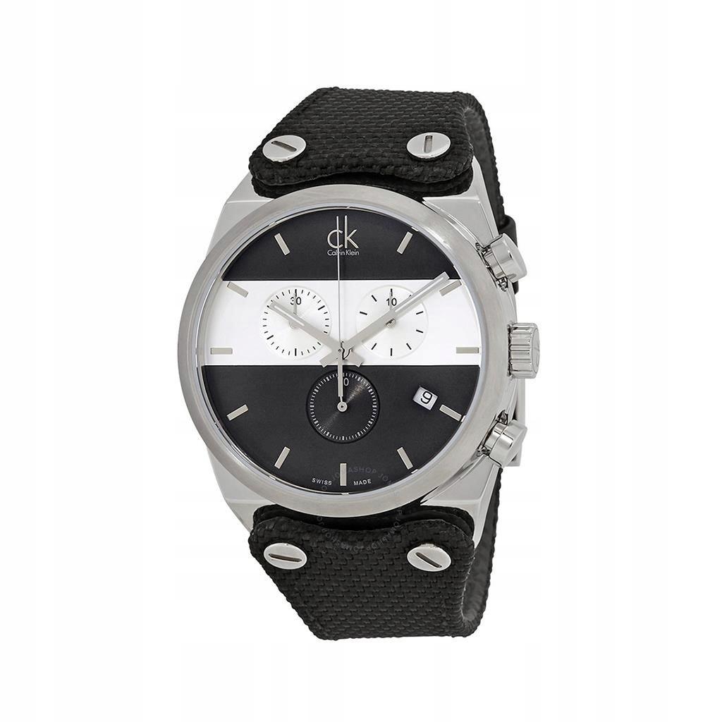 Calvin Klein zegarek męski czarny