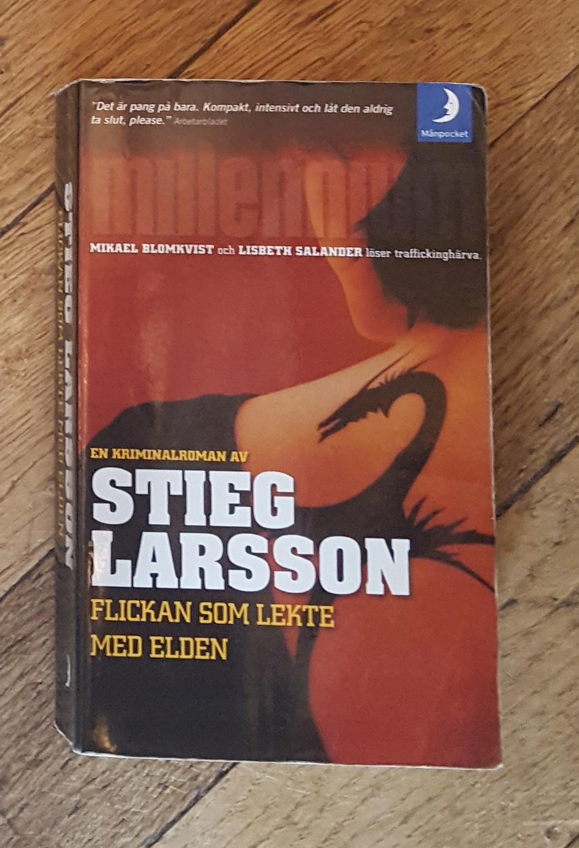 Stieg Larsson, Flickan som... SZWEDZKI