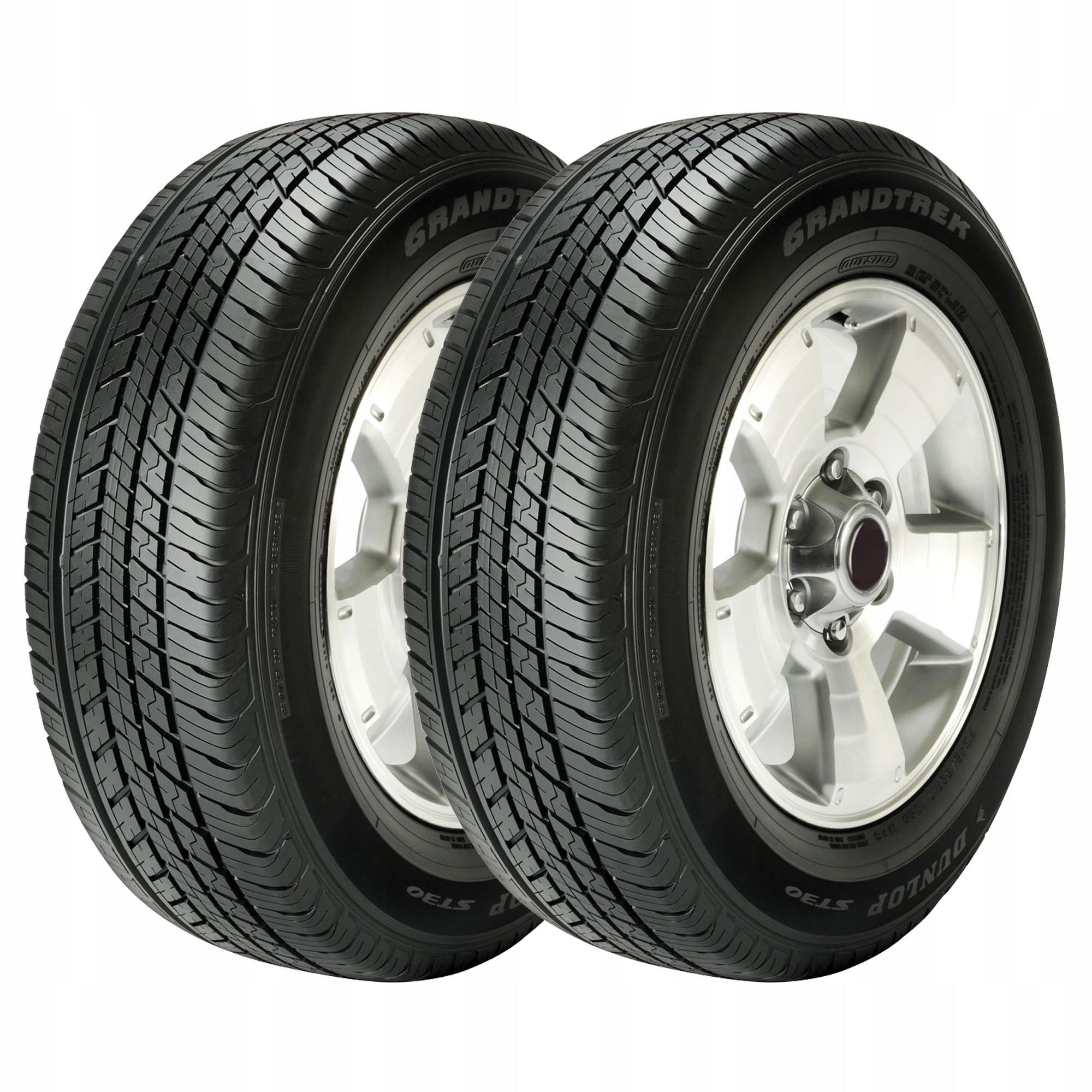 4x opony Dunlop Grandtrek ST30 225/60R18 100H