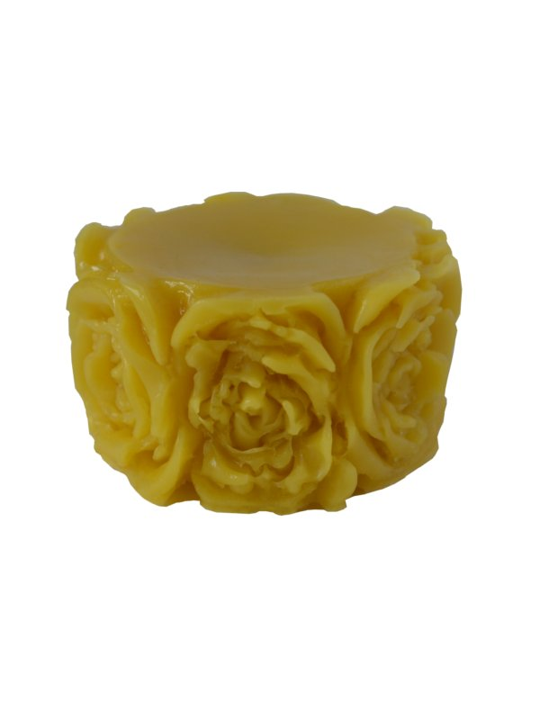 FORMA SYLIKONOWA DO ŚWIEC AF028 tealight w różach