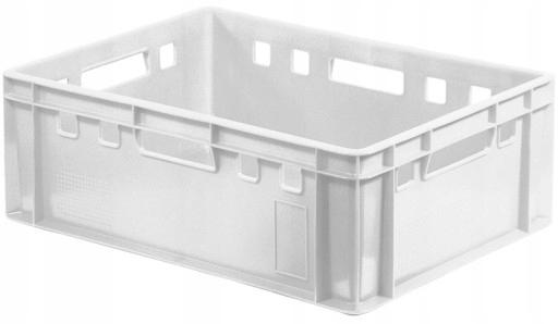 Plastikowy pojemnik transportowy EURO 60x40cm