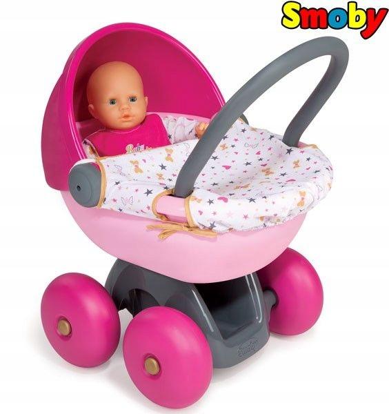 SMOBY Wózek Głęboki Baby Nurse Mój Pierwszy Wózek