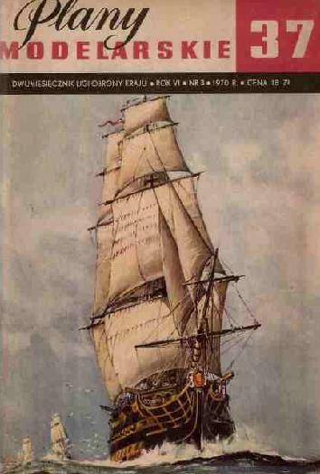 PLANY MODELARSKIE 37 HMS VICTORY