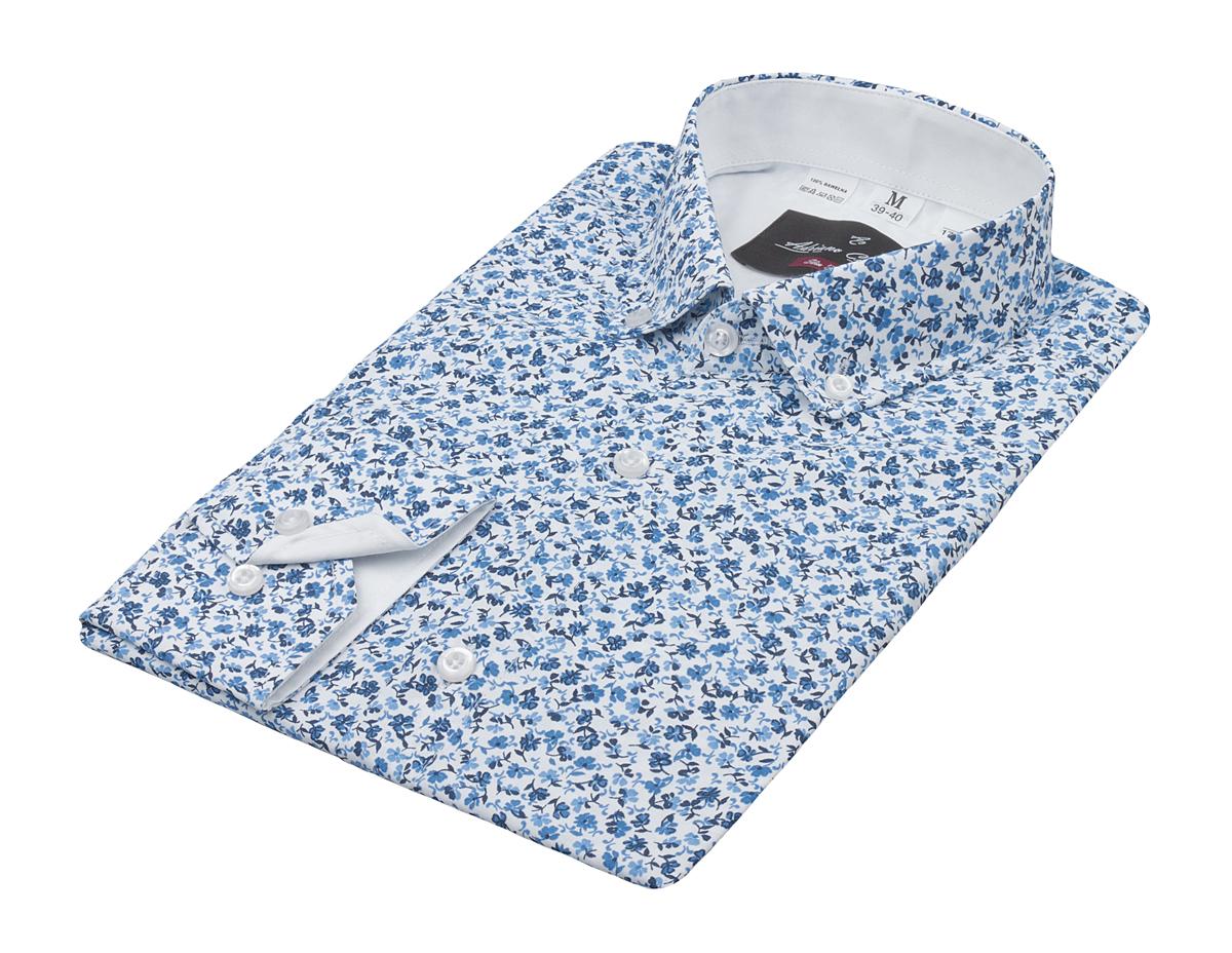 49d63ebc koszula adriano calitri nowa XL kwiaty - 7333983968 - oficjalne ...