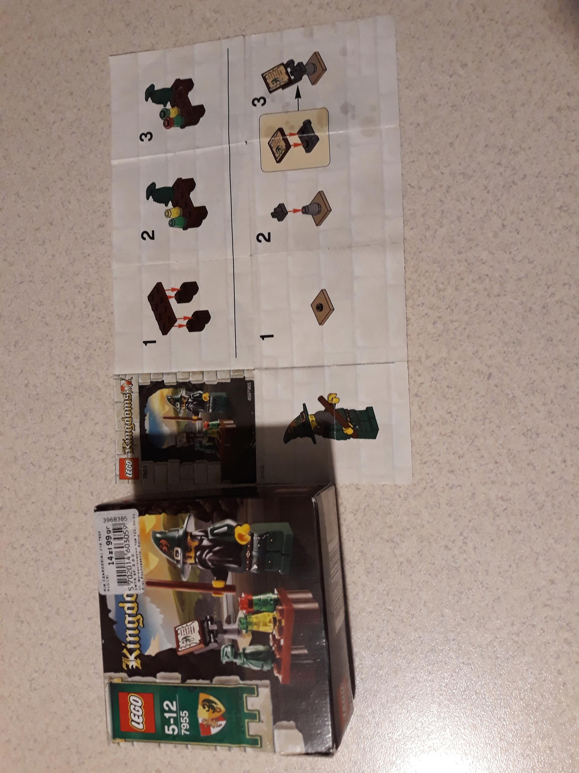 LEGO CASTLE KINGDOMS 7955 UNIKAT CZARODZIEJ 2010