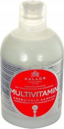 Kallos Multivitamin Energising Shampoo 1000ml