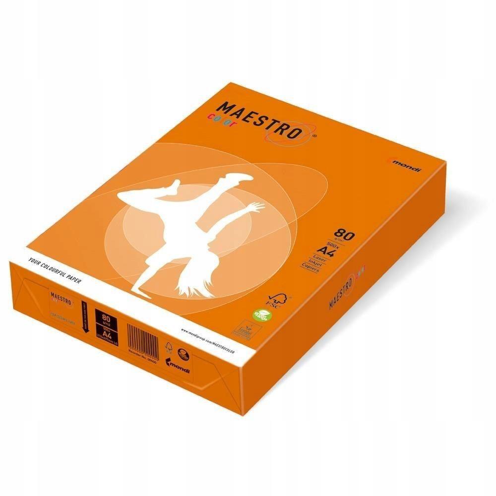 BYD - Igepa Papier Igepa Maestro Color pomarańczow