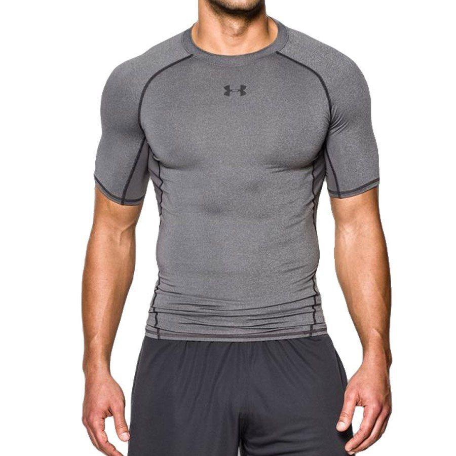 Koszulka Męska kompresyjna UA HG Armour szar XL