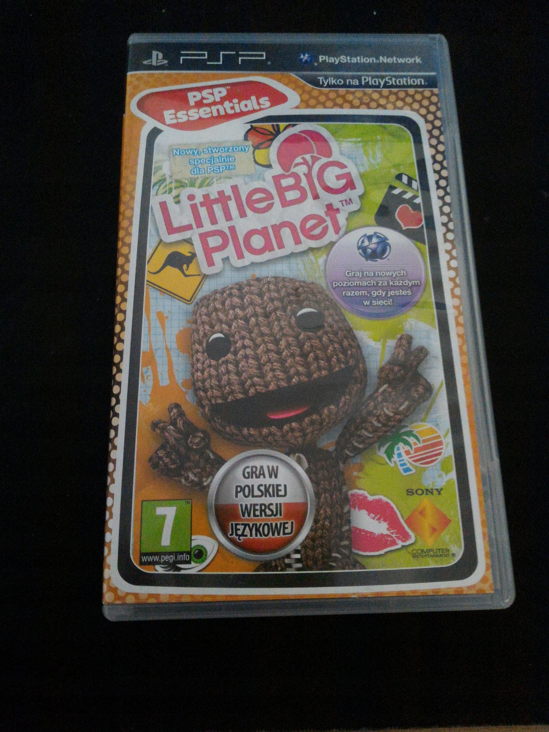 Gra LittleBigPlanet na konsole PSP wersja PL