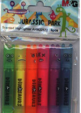 Zakreślacz mini Jurassic Park