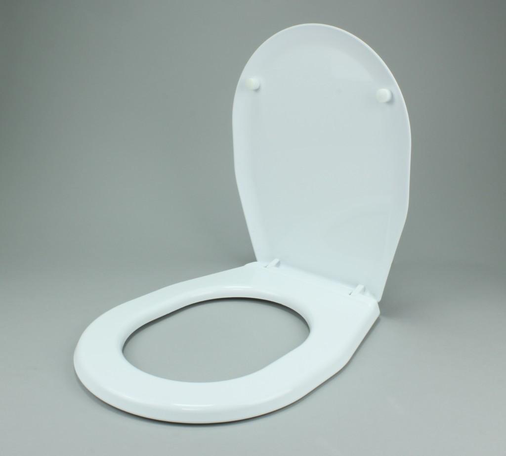 Deska sedesowa uniwersalna Biel ceramiczna
