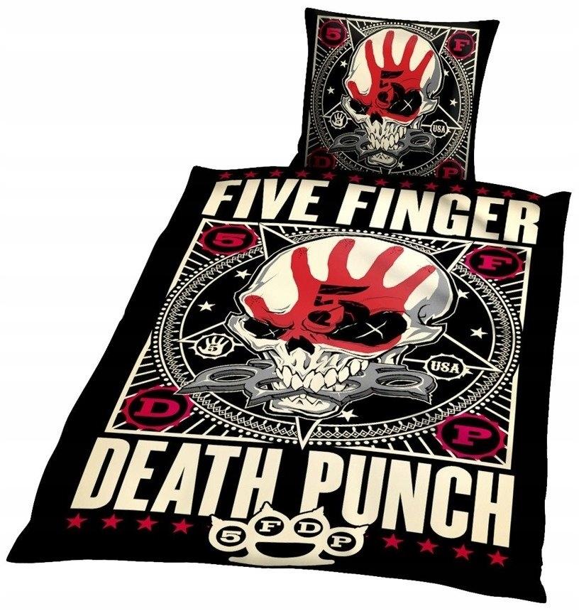 komplet pościelowy FIVE FINGER DEATH PUNCH