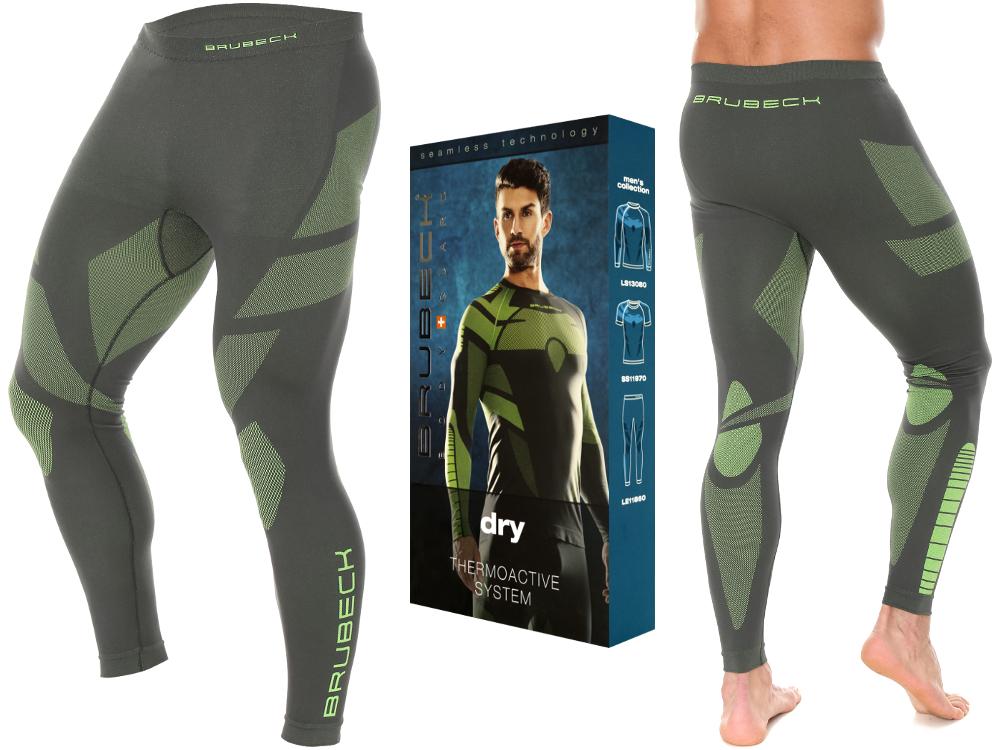 BRUBECK DRY spodnie TERMOAKTYWNE męskie LE11860 XL