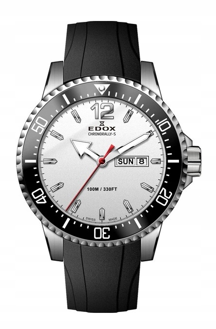 Edox Chronorally-S Day Date 84300 3CA ABN