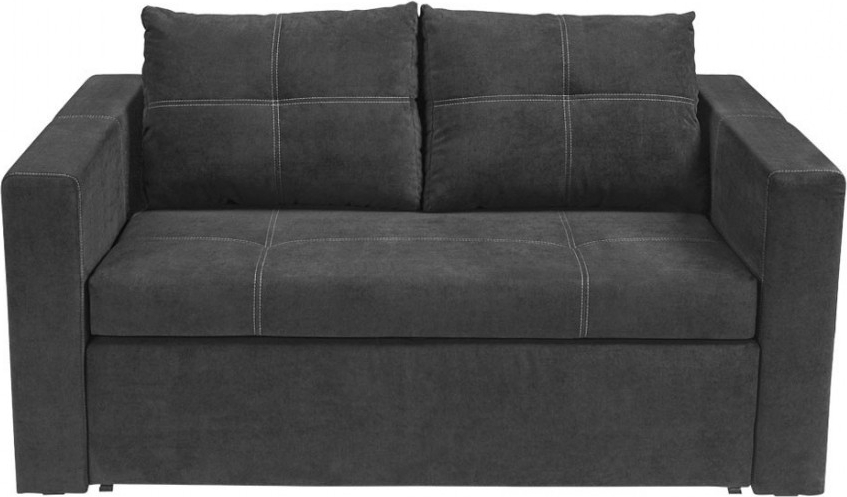 Sofa Rozkladana Czarna Bunio Black Red White 6945397993