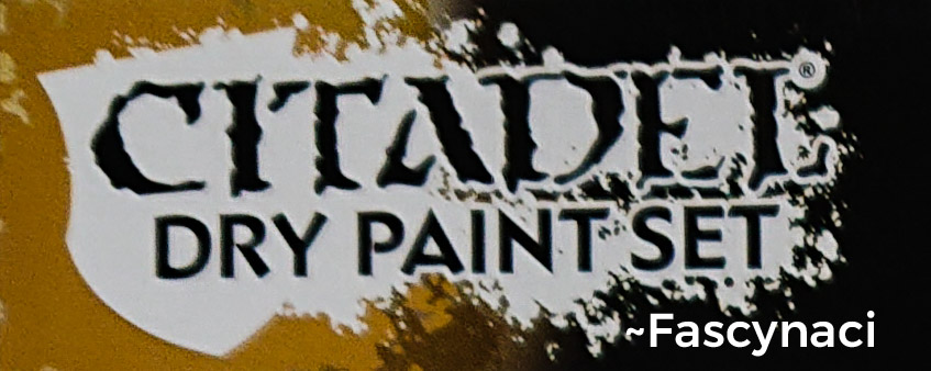 CITADEL DRY PAINT SET +ZESTAW GRATIS x3 <~F>