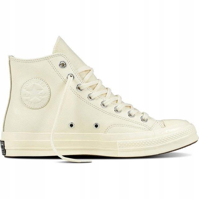 Białe Skórzane Buty Sportowe Converse rozmiar 41