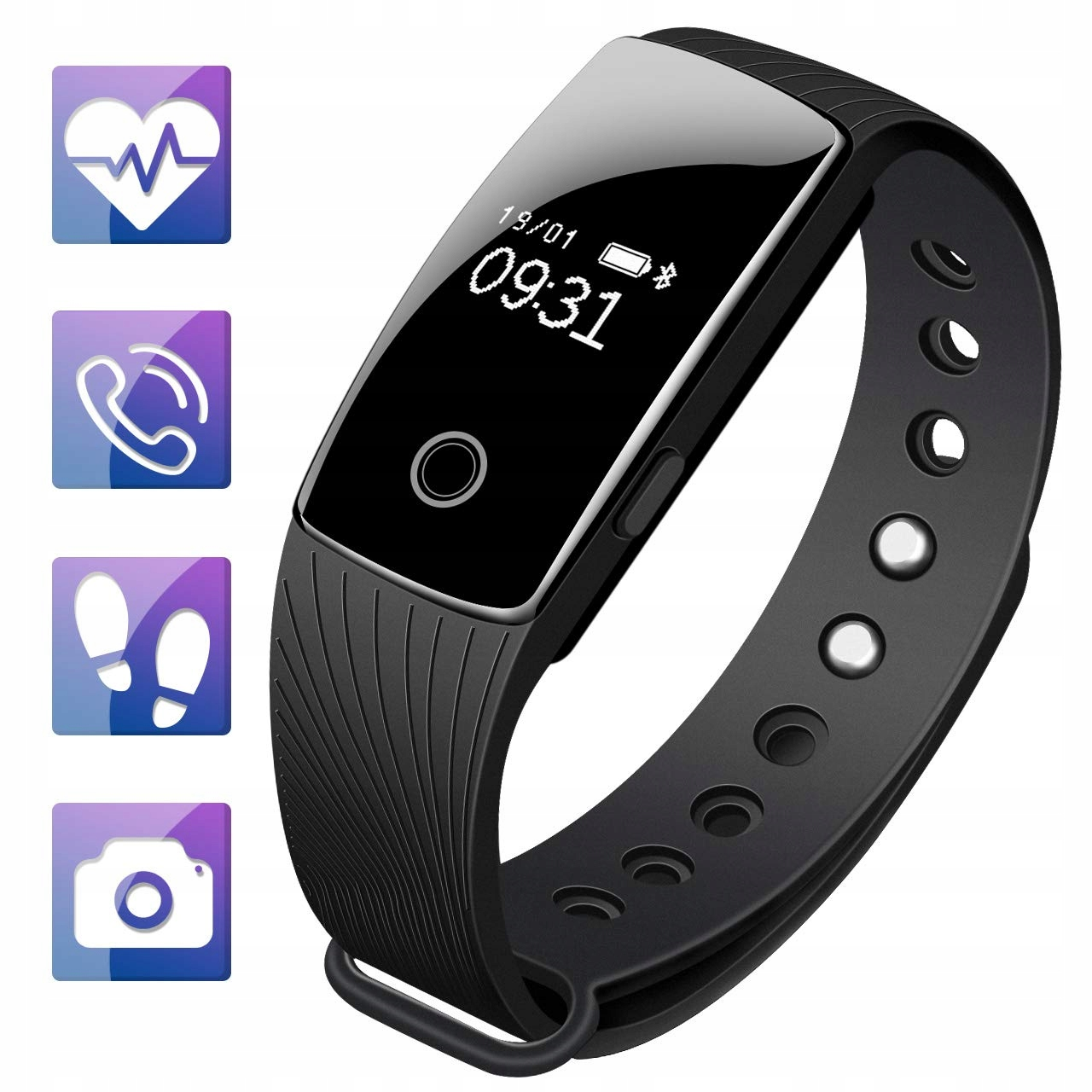 HEART RATE MONITORING FITNESS SMARTBAND M2