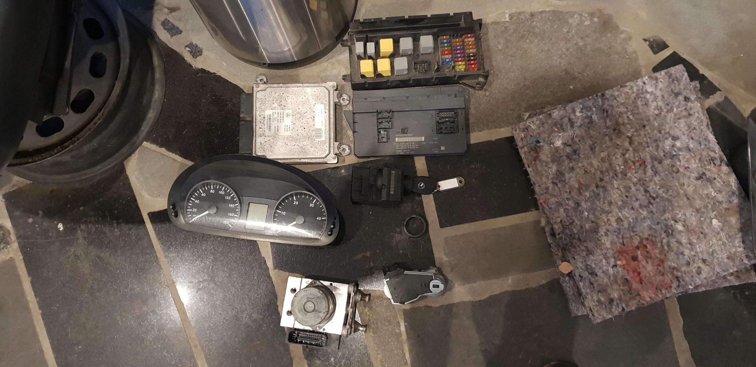 SPRINTER 906 ZESTAW STARTOWY OM 651