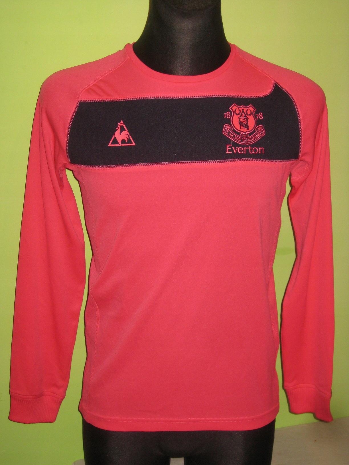 2010-11 Everton - Bilyaletdinov #7 Away L/S LCS (S