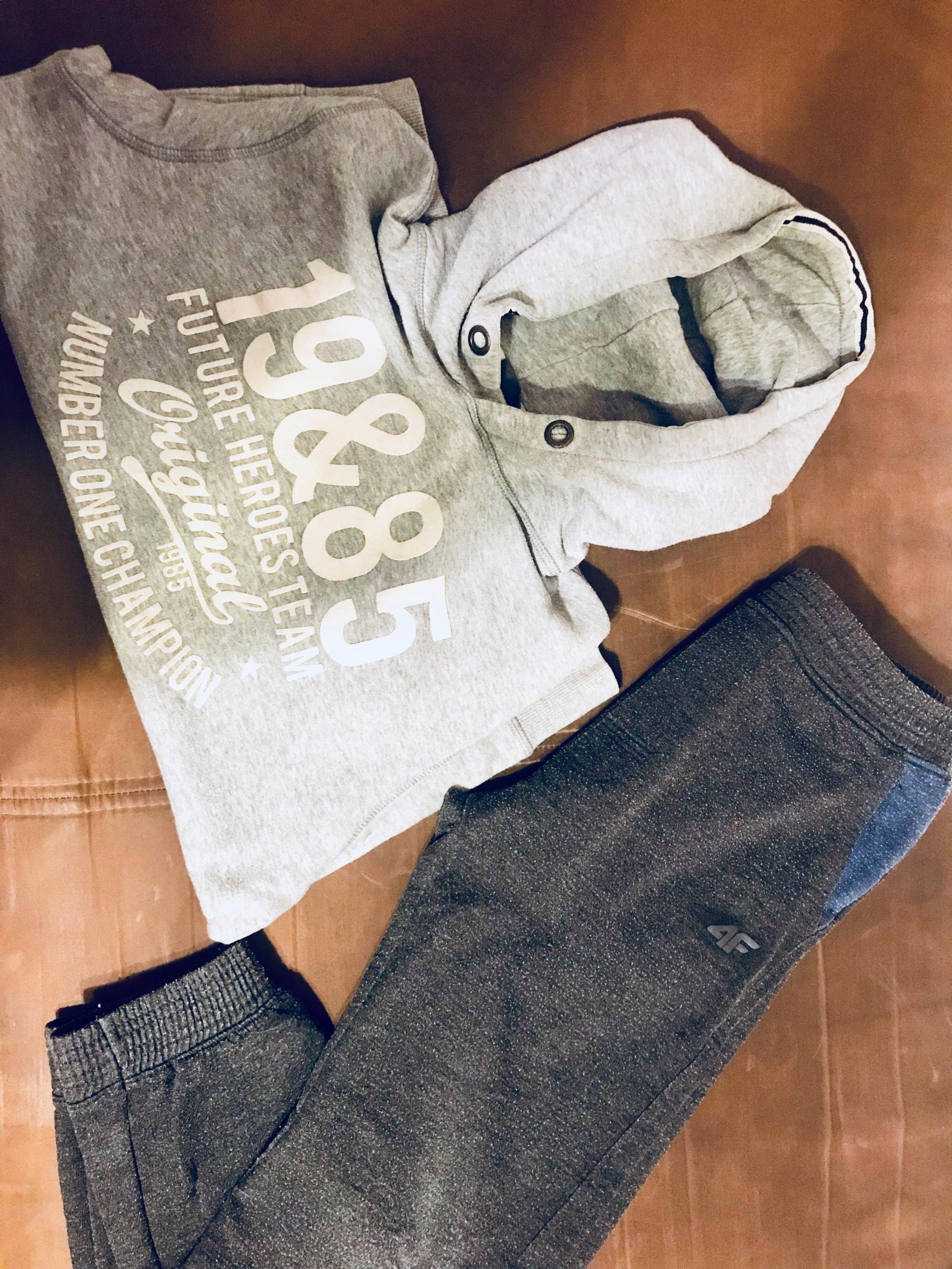 Bluza i spodnie dresowe, r. 152: cubus, 4F