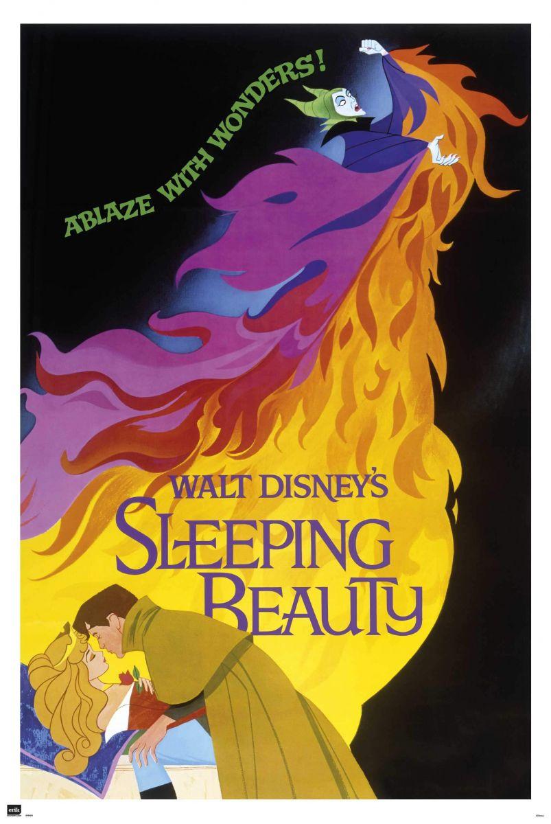 śpiąca Królewna Plakat Z Bajki 61x915 Cm 7313818389