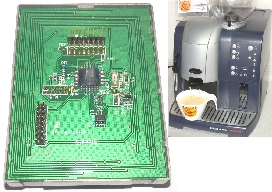 Elektronika płytka do ekspres Solis x100 Compact
