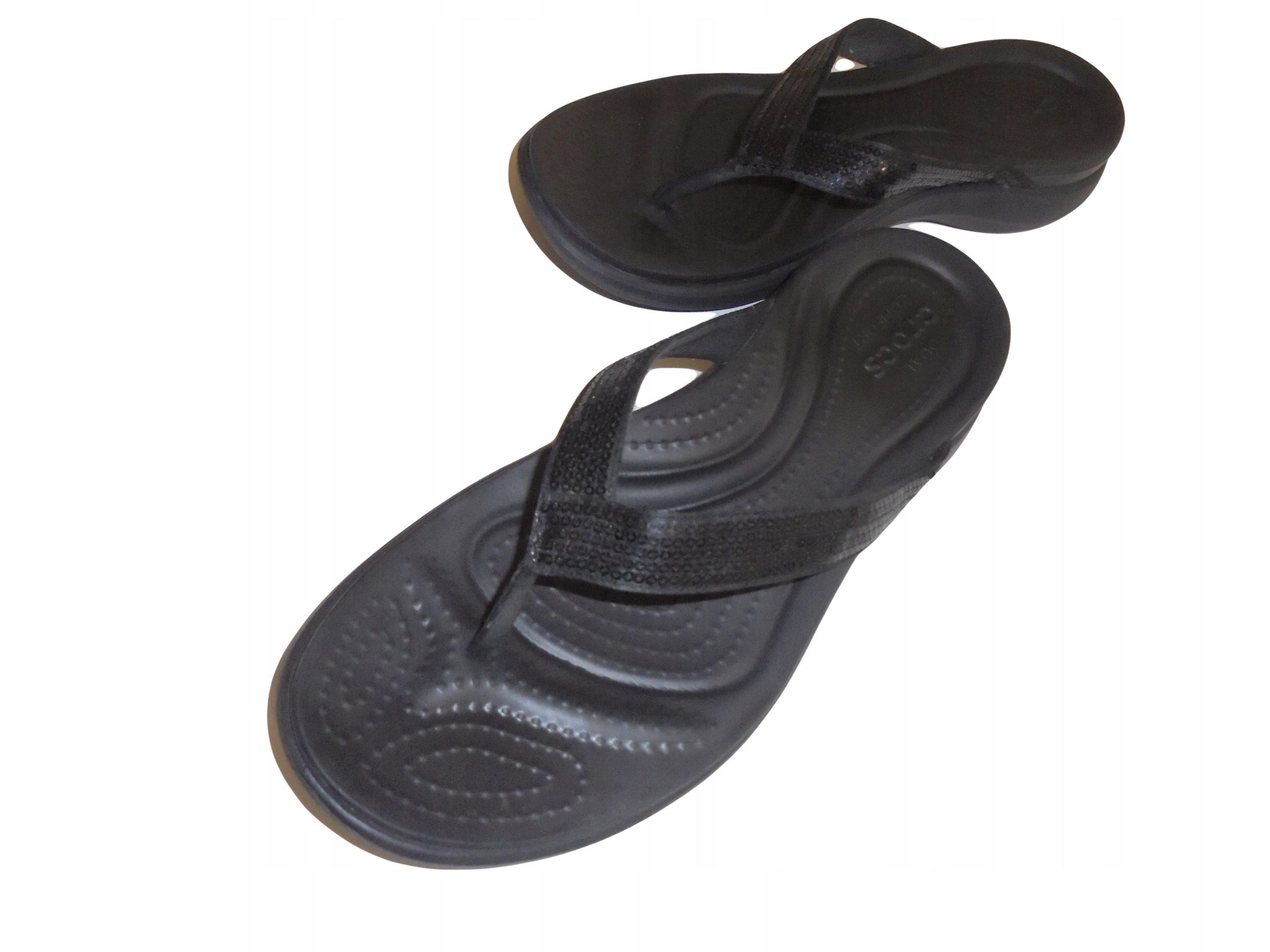 Japonki firmy Crocs. Stan idealny. Rozmiar 42,5.