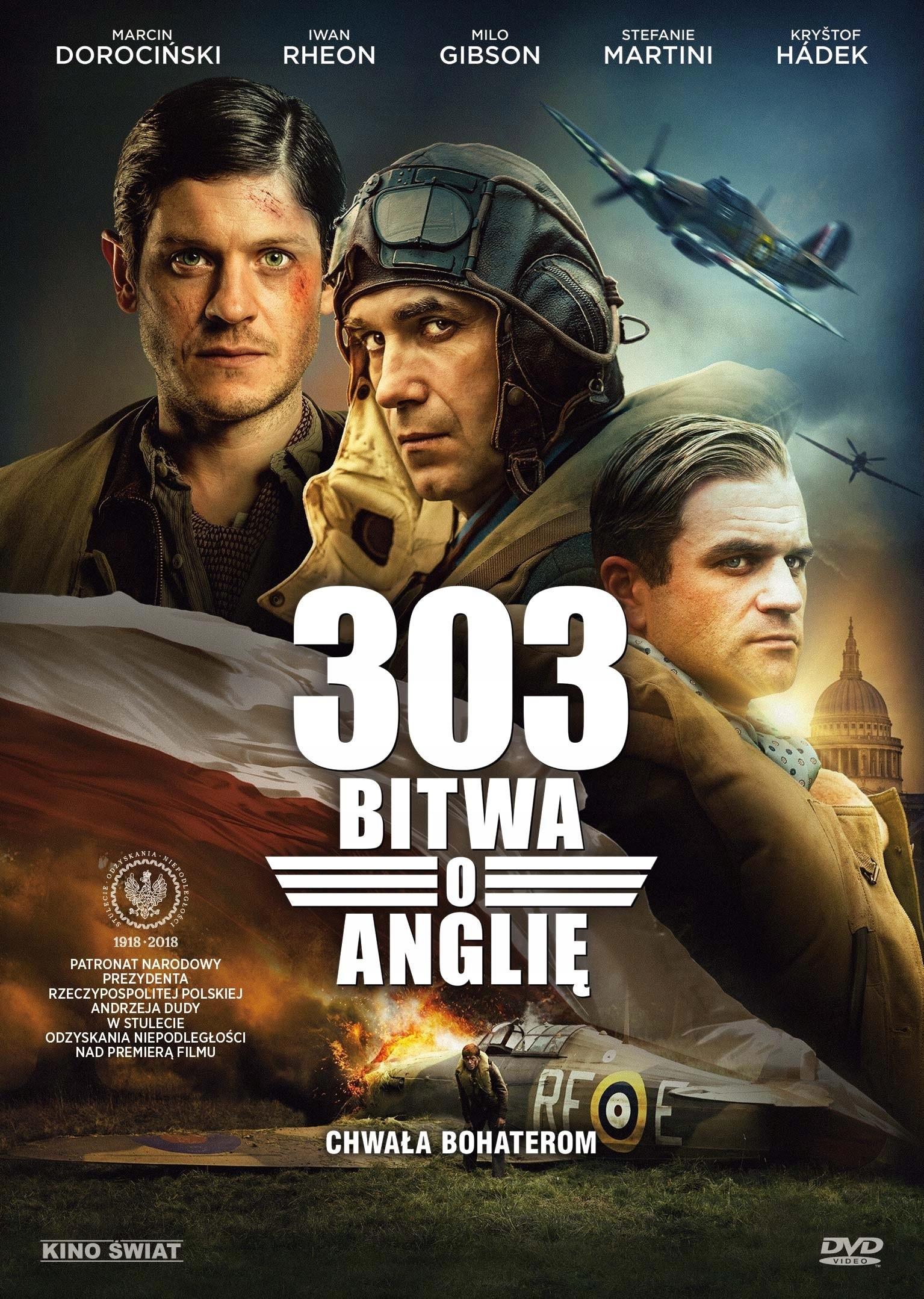 303 Bitwa o Anglię DVD premiera 17.12.2018