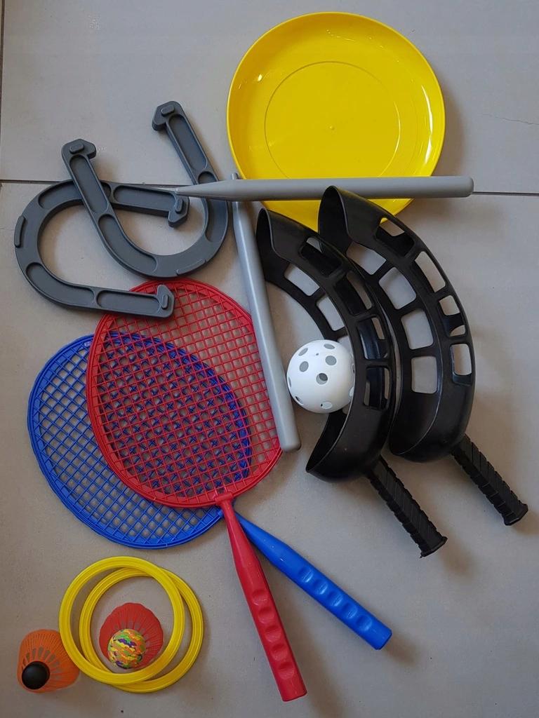 Dla dzieci Zestaw do gry w badmintona