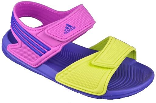 ecf8101f Sandały dziecięce Adidas Akwah B26061 r. 31 - 7358201075 - oficjalne ...