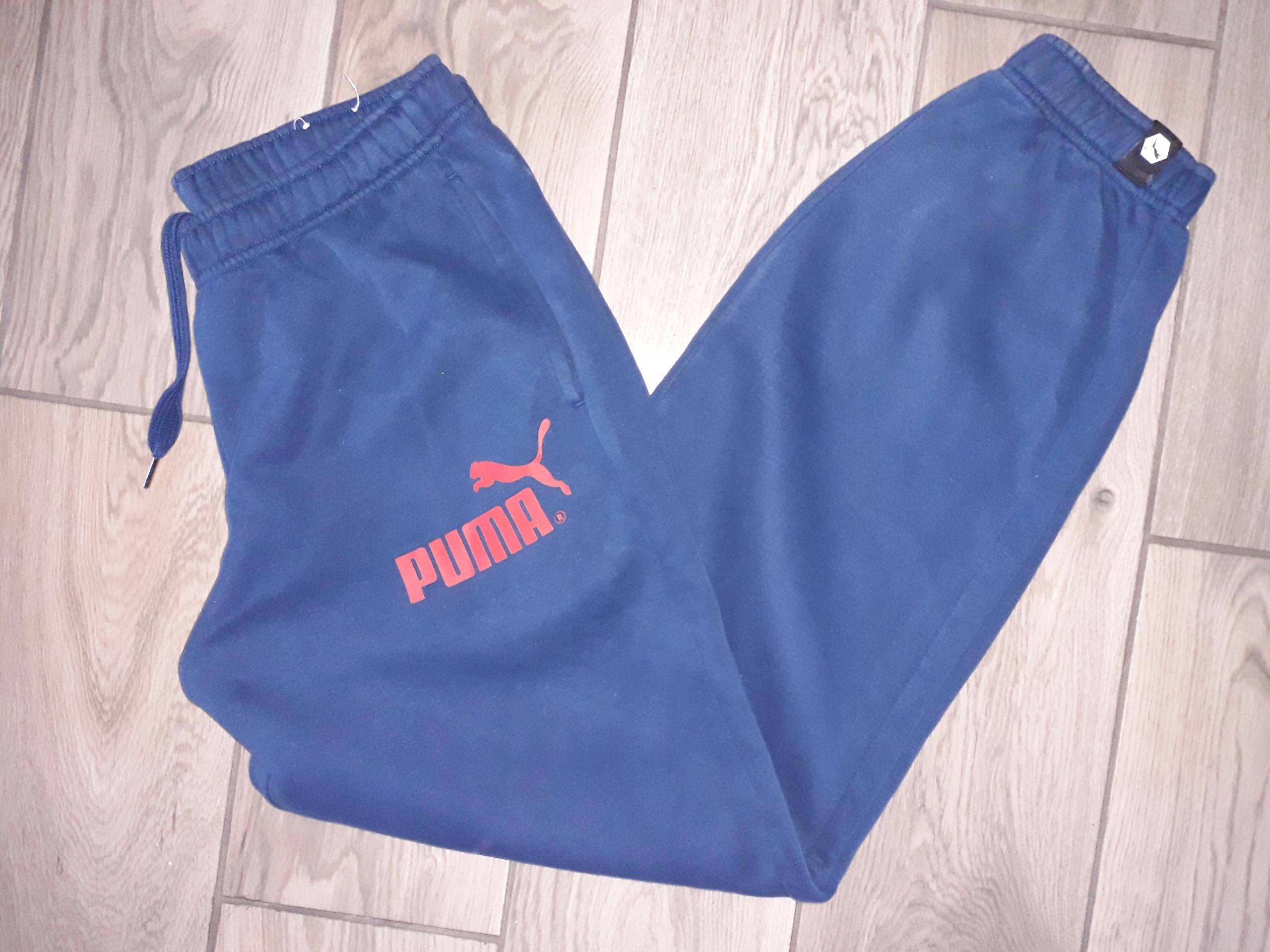 PUMA męskie spodnie dresowe dresy r. M