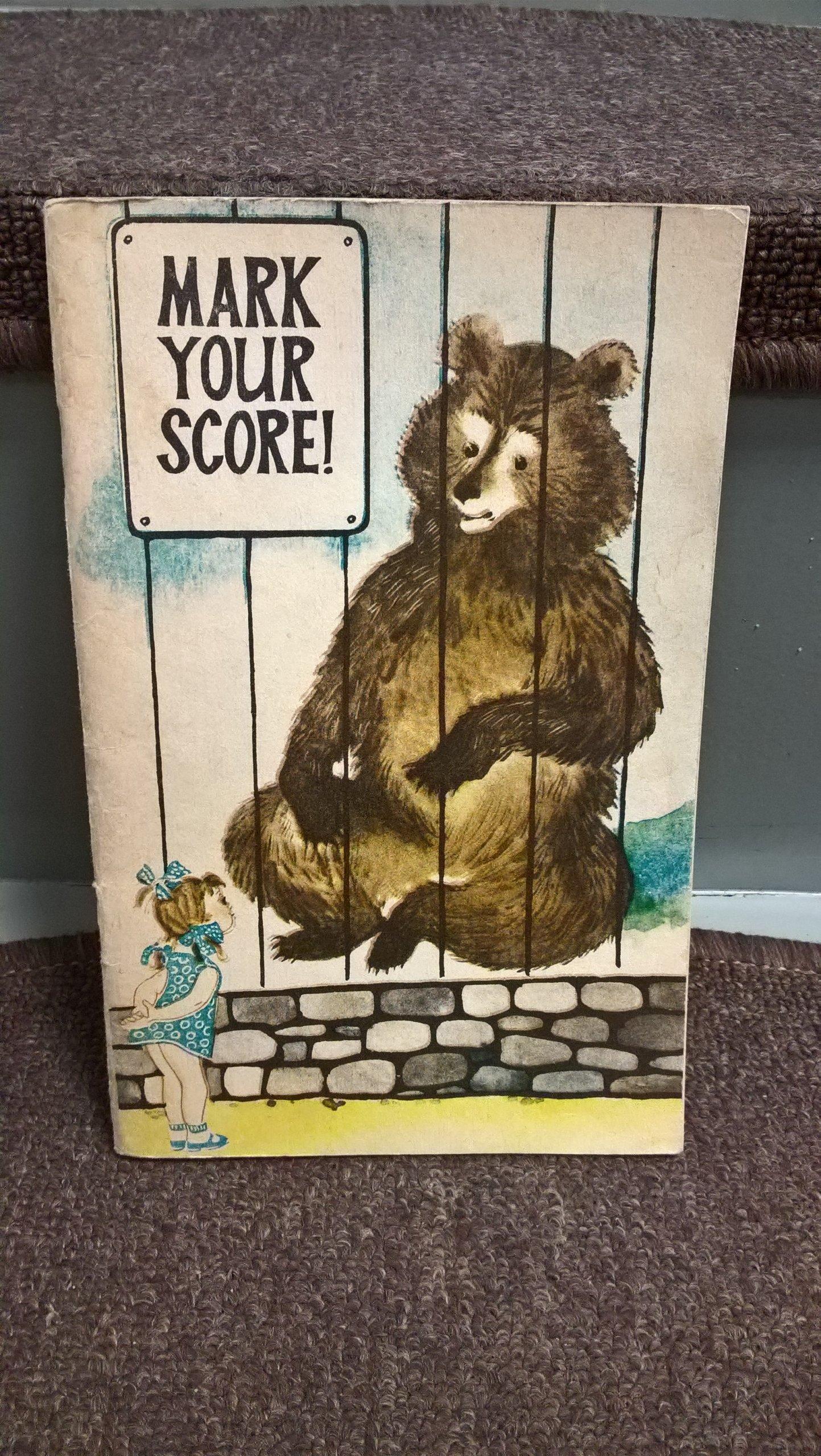 Mark your score
