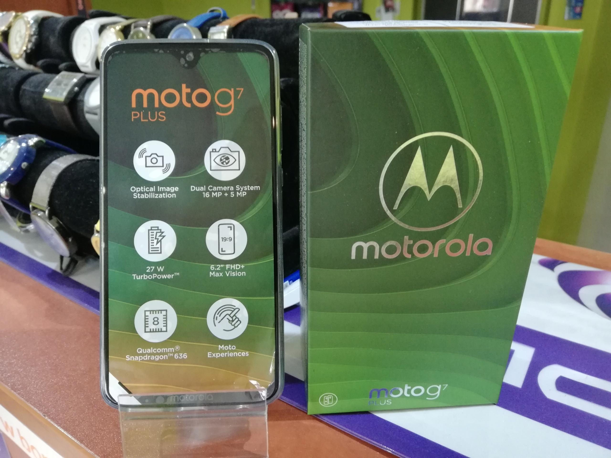MOTOROLA Moto G7 Plus RAM 4 64GB DualSIM GW 24MC