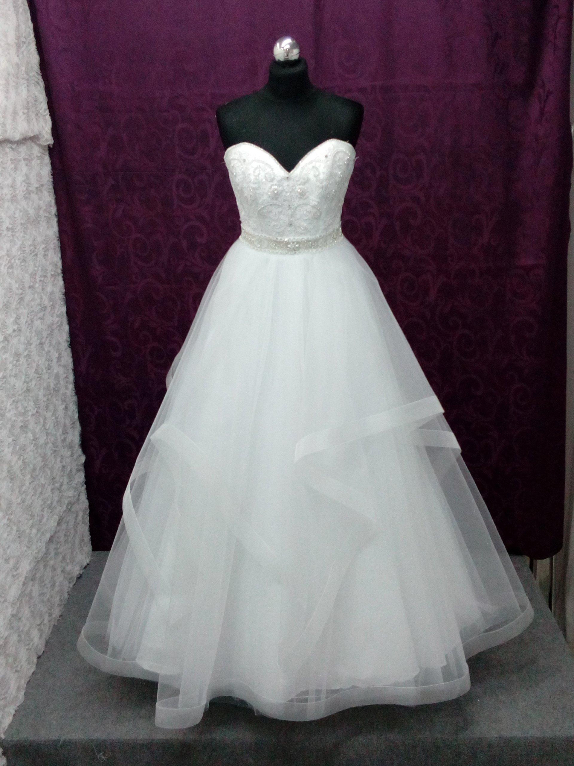 2f0a1f64fe Suknie ślubne! NOWA Suknia ślubna! WYPRZEDAŻ! D151 - 7266510129 ...
