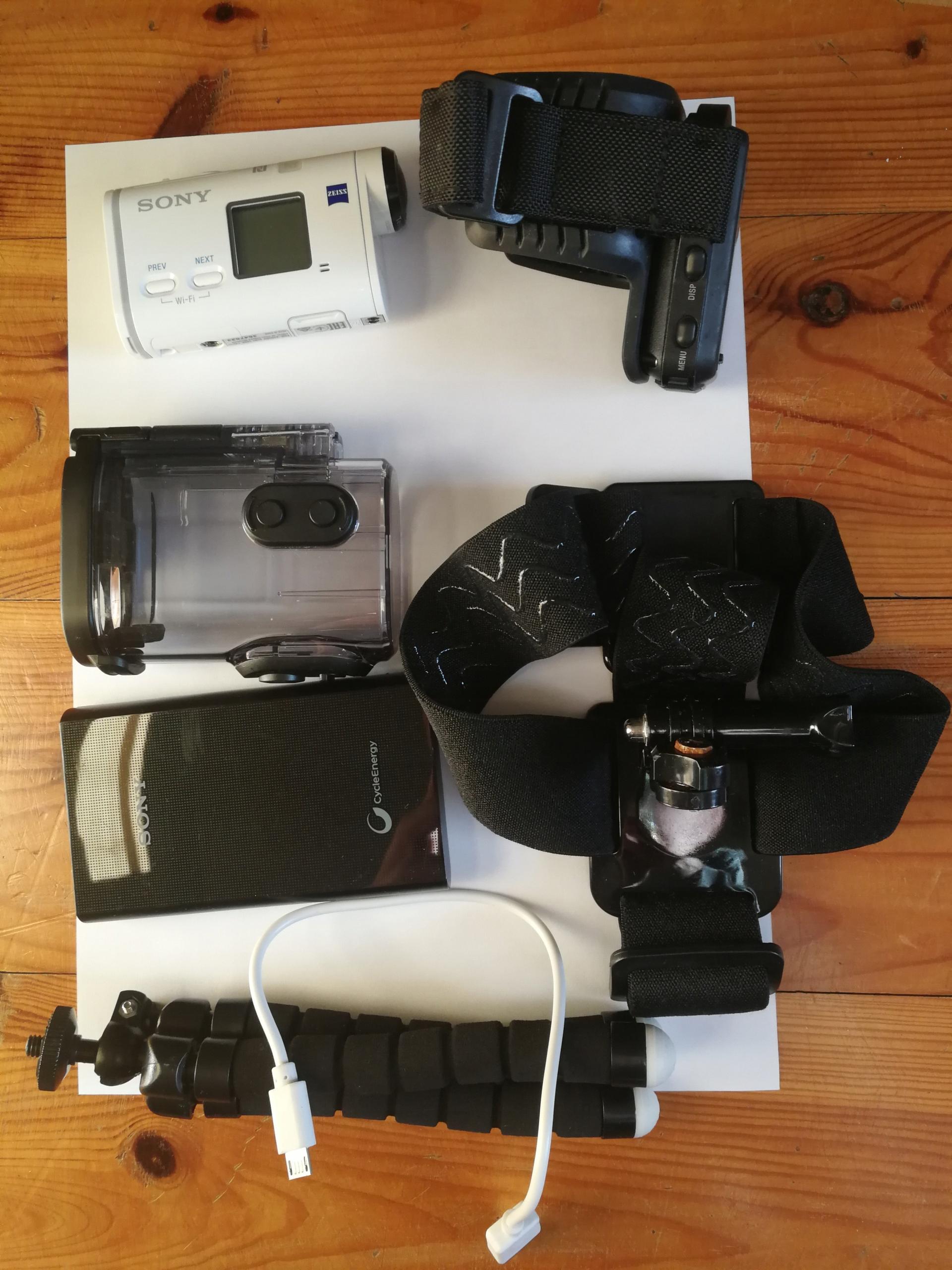 Kamera sportowa Sony FDR-X1000VR + powerbank 5.800